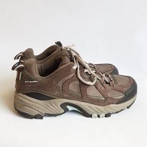 Columbia Hiking Shoes Plains Ridge Waterproof 8.5